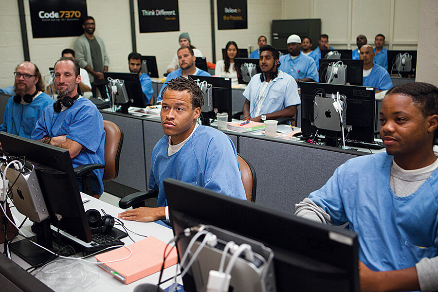 Hard time software: Why these prisoners learn computer coding