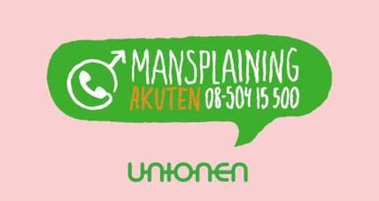 Why Sweden launched a 'mansplaining' hotline