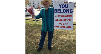 How one Texas man offered a message of hope to Muslim-Americans