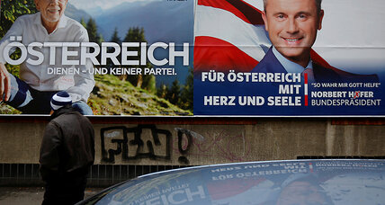 In tense Austria runoff, two conflicting 'Trump effects' are in play