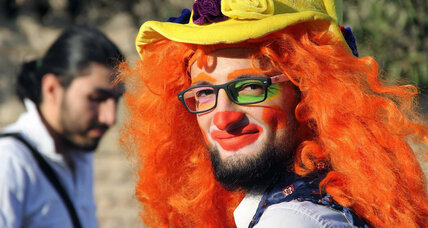How an Aleppo clown's mourners see the loss of a potent symbol