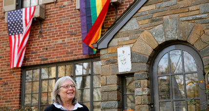 Why several neighbors in Washington, D.C. are raising rainbow flags