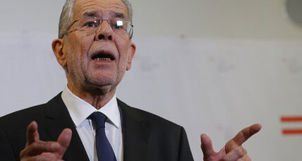 Moderate liberal wins Austrian presidency, beating Euroskeptic rival