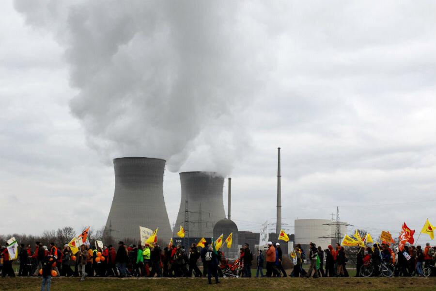 germany nuclear power shutdown