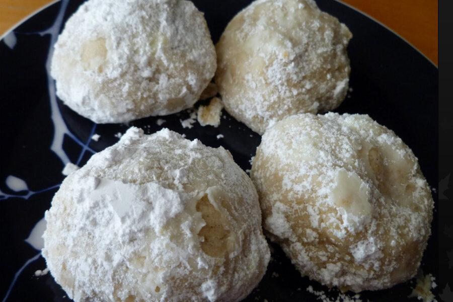 Coconut Snowball Cookies Csmonitor Com