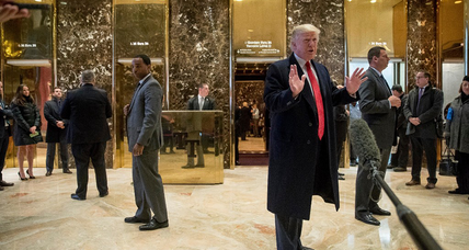 Who should pay for security at Trump Tower?