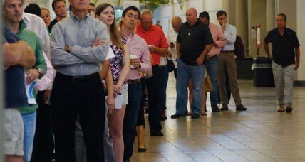 Florida voters sue for recount: A call to address election issues? (+video)