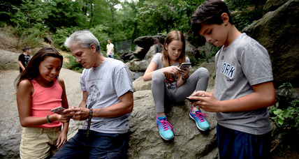 Do as I say? Parents get as much daily screen time as their teens
