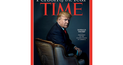 December surprise: Time picks Donald Trump as its 'Person of the Year'