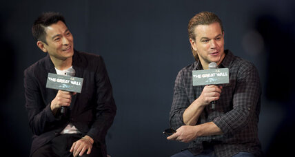 Whitewashing? Matt Damon defends 'Great Wall' casting.