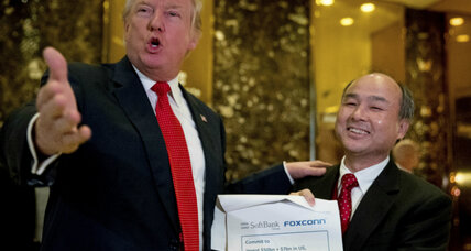 Who is the Japanese billionaire who met with Donald Trump?