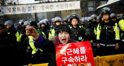 As South Korean women fight for their rights, the gloves come off