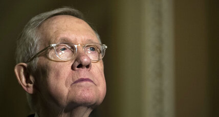 Harry Reid: A sculptor of partisanship, who was also molded by it