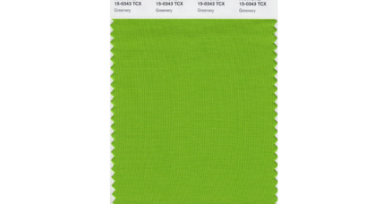 Pantone goes very green with hopeful Color of the Year