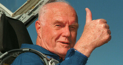John Glenn: A 'throttle up' life of courage (+video)