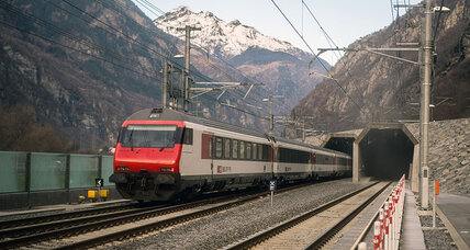 Swiss trains now rolling through world's longest rail tunnel