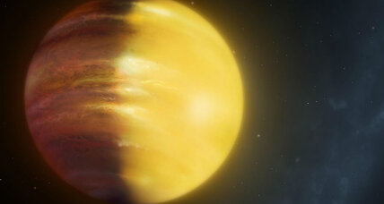 Astronomers discover alien planet with clouds made of jewels