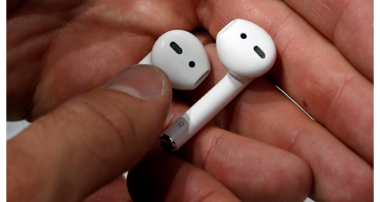 Just in time for the holidays: Apple's wireless AirPods