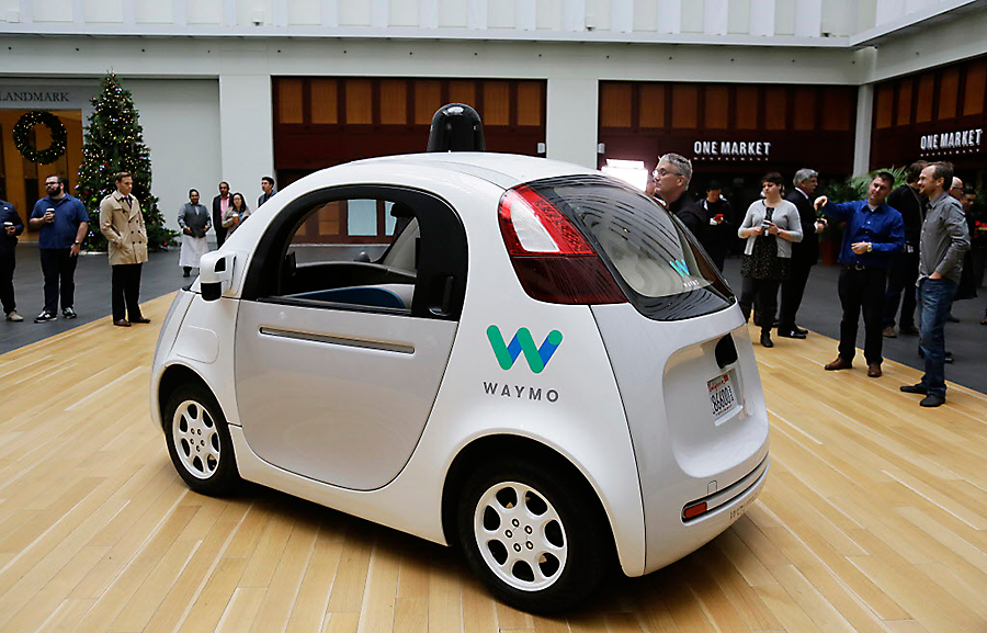 Google's autonomous car spin-off: A tech firm, not an automaker