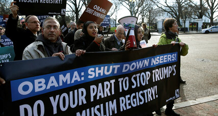 True menace or 'straw man'? Tech debates Trump's Muslim registry idea.