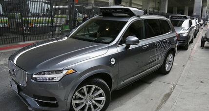 Uber tests California laws with driverless cars in San Francisco