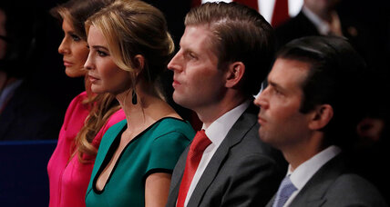 Trump's kids could play key White House roles: How unusual?