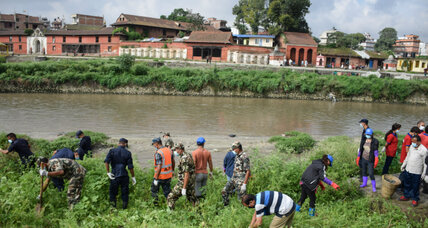 In Nepal, 'appalling' river runs cleaner in wake of unusual partnership