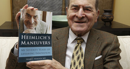 Dr. Henry Heimlich remembered for life-saving maneuver