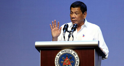 Philippines president threatens to throw out US troops