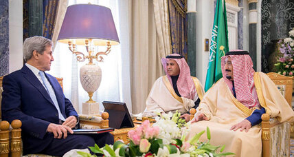 Kerry discusses Yemen with Saudi king in one of his last trips