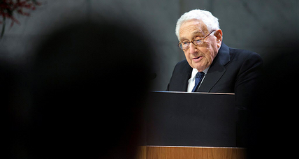 In supporting retaliation against Russia, Kissinger offers perspective on Putin