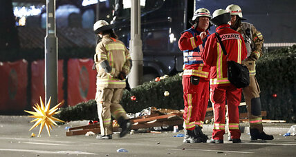 Truck slams into Christmas market in Berlin. Terrorist attack?