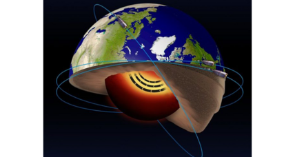Scientists discover bizarre molten iron 'jet stream' in Earth's core