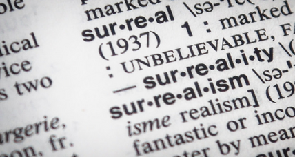 Why 'surreal' is Merriam-Webster's word of the year