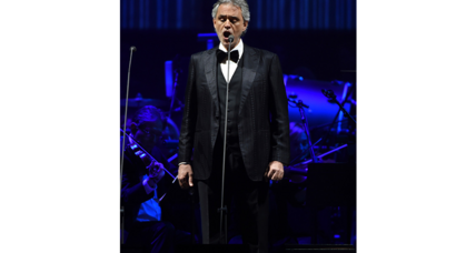 Why did Andrea Bocelli back out of Trump's inauguration?