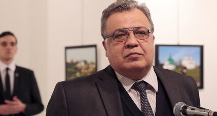 How news sites handled graphic photos of Russian ambassador's murder