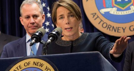Attorneys general embrace role as check on executive power, on right and left