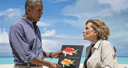 Why does this vibrant fish bear President Obama's name?