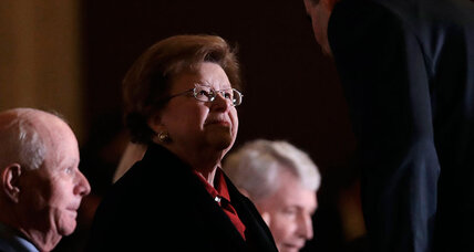 Barbara Mikulski: How a 4-foot-11 supernova changed the Senate