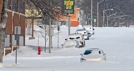 Ice storms hammer north central US