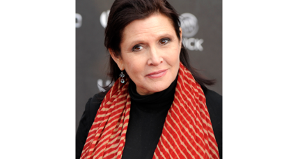 Actress, novelist Carrie Fisher 'was loved by the world'