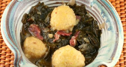 Green and gold collards