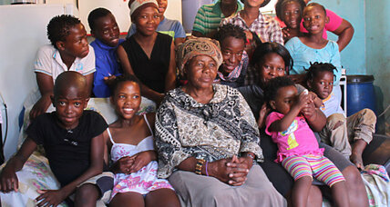 In dramatically young Africa, elderly are a valuable resource