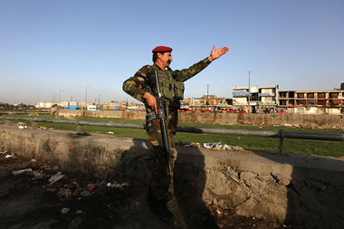 A new wild card in Afghanistan war: Russia