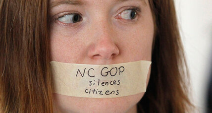 As North Carolina continues its sharp right turn, some feel abandoned