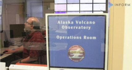 Aleutian island volcano spurts ash 20,000 feet in the air