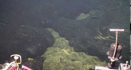 Axial Seamount: A model for predicting volcanic eruptions?