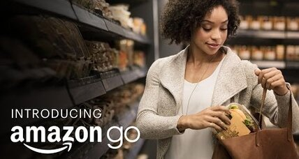 Amazon's new grocery store to make shopping feel like shoplifting