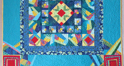 A cottony clash of quilters