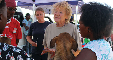 Dogs need this South African woman. People need her even more.